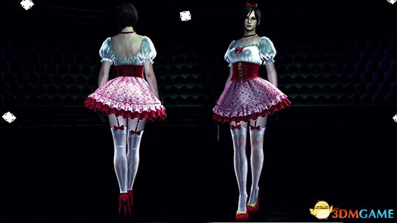 生化危机6 艾达性感红色白雪公主连衣裙MOD