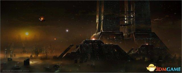 银翼杀手游戏下载_《银翼杀手2049》官方原画设定图 每张都美到窒息_3DM单机