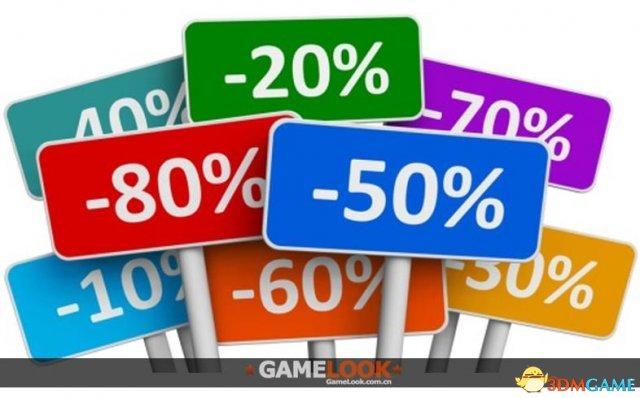 游戏促销折扣力度调查 研究称40%以上效果最好