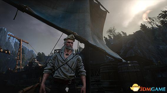 巫师3:狂猎 狼叔杰洛特水手帽MOD