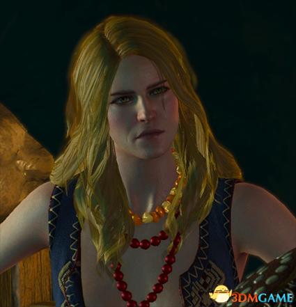 巫师3:狂猎 v1.31女术士凯拉梅兹长发MOD