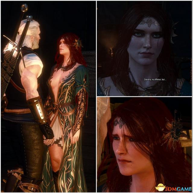 巫师3:狂猎 v1.31红女巫特莉丝发型美化MOD v3.0