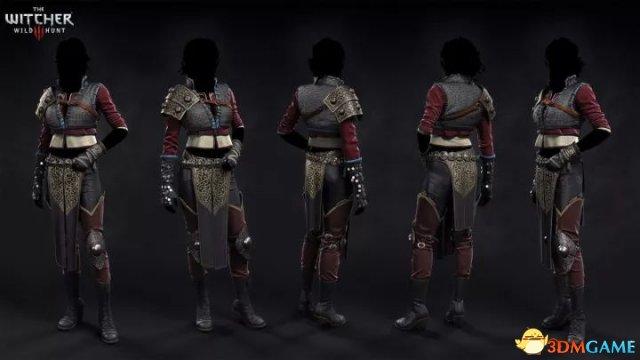 《巫师3》角色3D建模作品欣赏 波兰设计师之力作