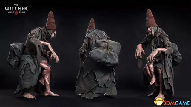 《巫师3》角色3D建模作品欣赏波兰设计师之快印店v巫师设计素材图片