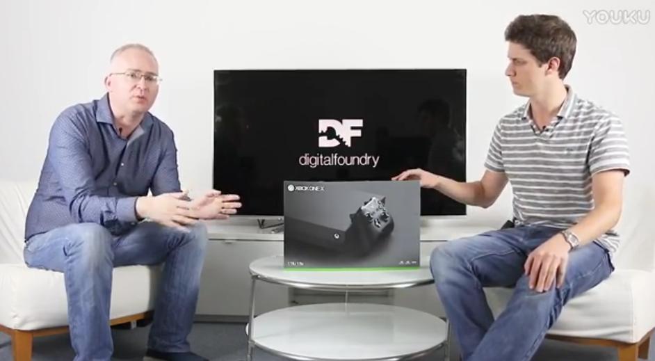 Xbox One X开箱和与PS4 Pro的尺寸对比