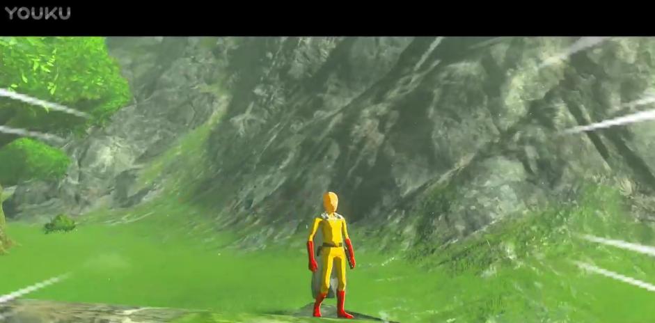 《塞尔达传说:荒野之息》一拳超人MOD