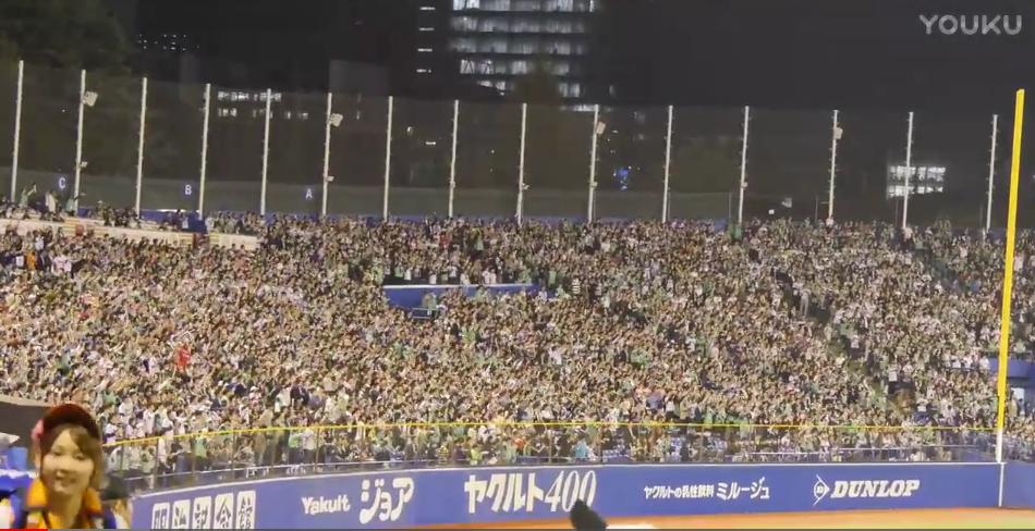夏祭 东京棒球燕子队应援歌