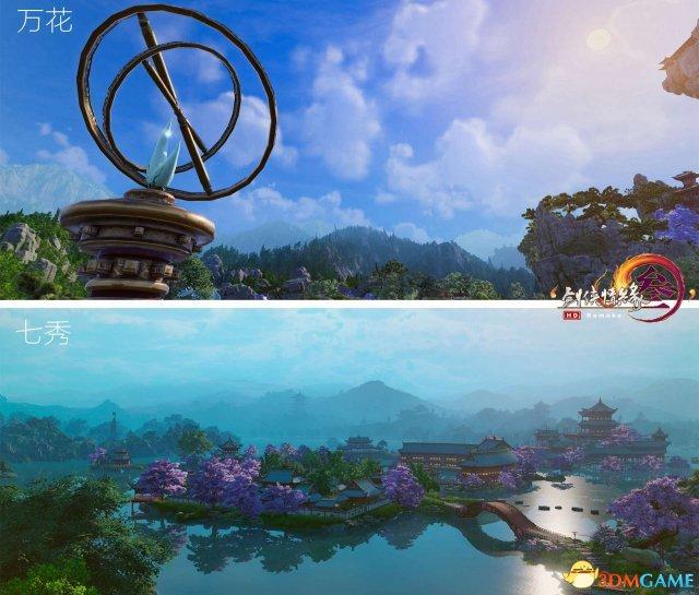 《剑网3》重制版瘦西湖惊艳亮相 高清图集首曝