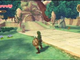 塞尔达传说 天空之剑 游戏截图
