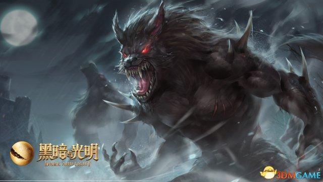 狼人对月嚎叫 《黑暗与光明》狼之夜使命召唤