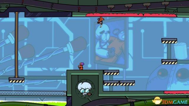 轻松明快动画风2D横版ACT 《喷射侠》 PS4版公开