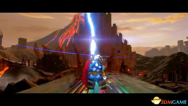 助力电影上映 《乐高漫威超级英雄2》雷神预告