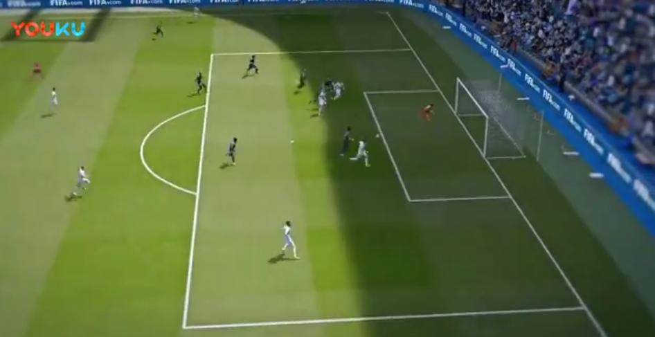 《Fifa online 4》实机演示