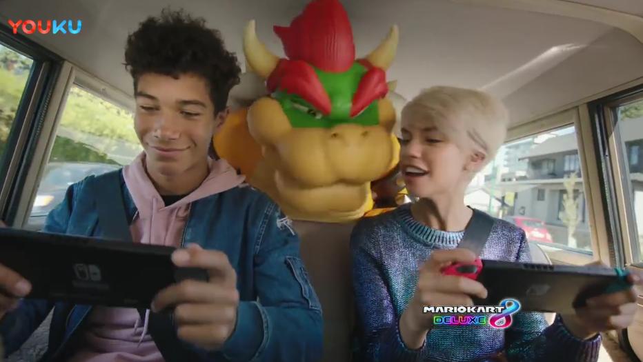 任天堂Switch广告-游戏进入生活