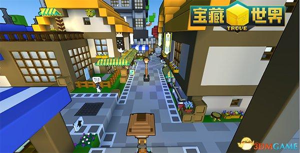 他们建了城镇 《宝藏世界》探秘AMS冠军秋季皮纳塔