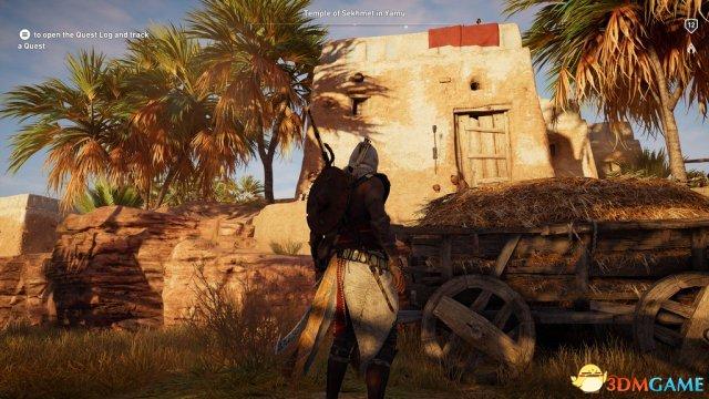 《刺客信条:起源》Xbox One X截图对比 细节惊人