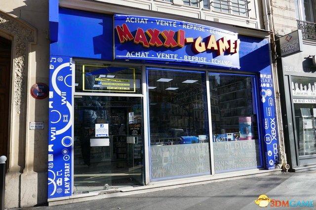 堪称游戏博物馆 巴黎MAXXI-GAMES游戏商店猎奇