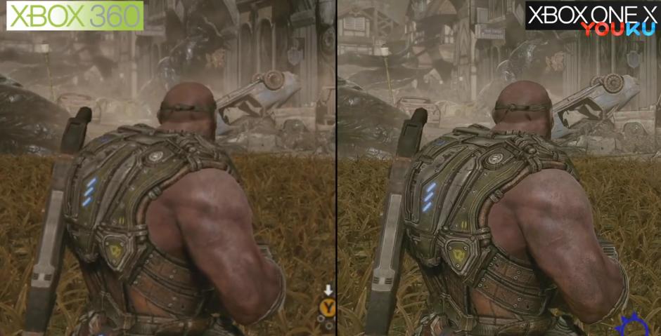 《战争机器3》Xbox One X向下兼容优化