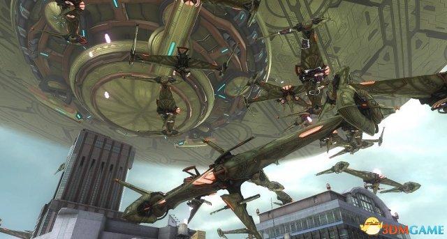 《地球防卫军5》最新外星无人机&人形突击兵公开