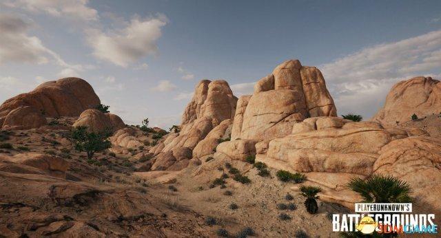 《绝地求生》沙漠地图新截图 地形复杂是埋伏天堂