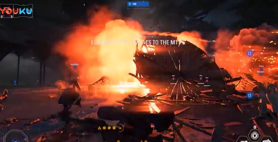 《星球大战:前线2》多人模式 KASHYYYK地图演示