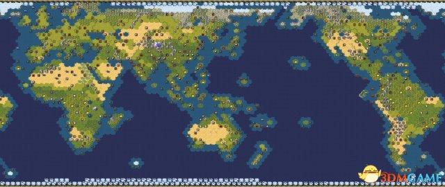 文明6官方真实全资源分布地图一览