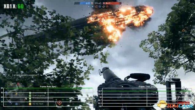 《戰地風雲1》Xbox One X測試:未優化仍穩定60幀