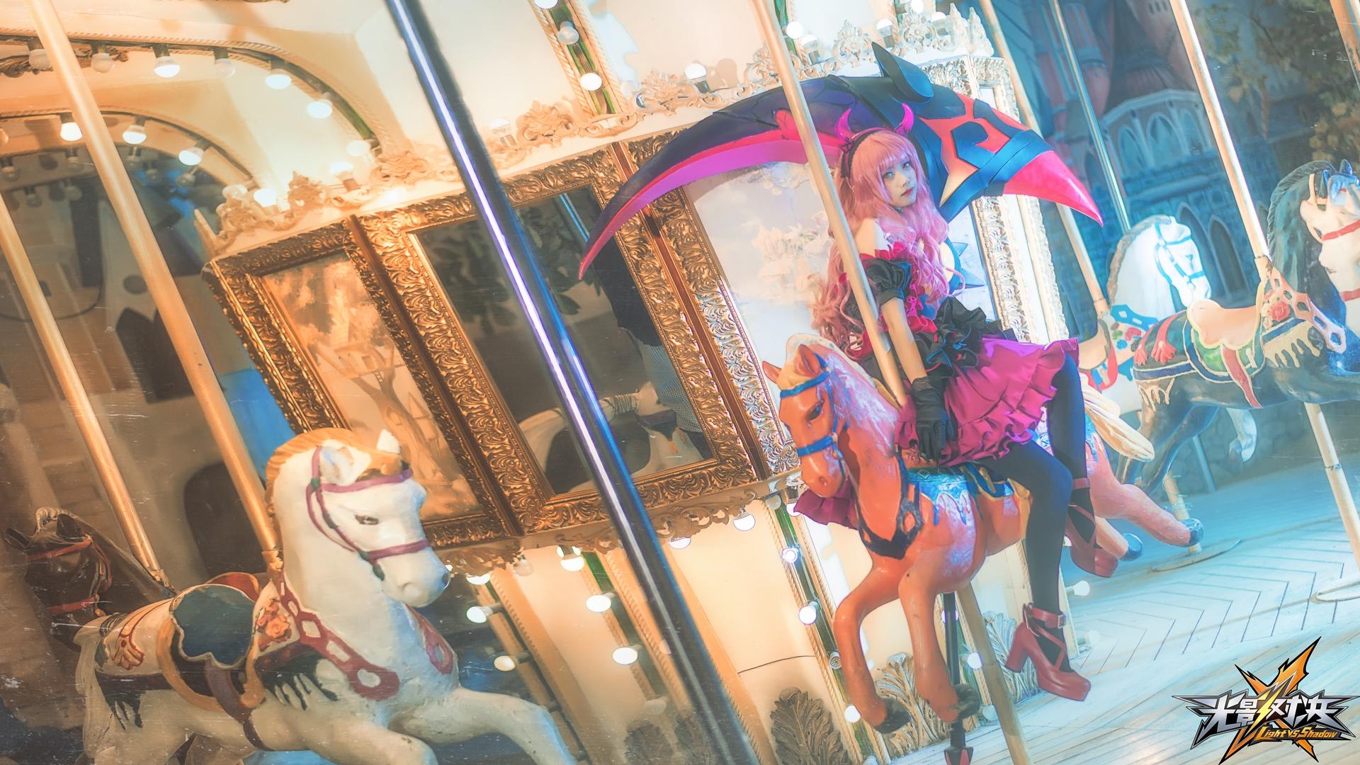 《光影对决》精美COS赏析 截图  cosplay写真