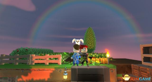 《传送门骑士》高清截图第二弹:彩虹岛续写浪漫