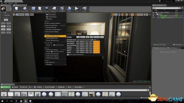玩家用虚幻4引擎重制恐怖游戏《P.T.》 惊悚诡异