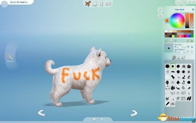 《模拟人生4》玩家DIY宠物外形 脑洞大开让人笑尿
