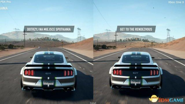 微軟勝了?《極速快感20:复仇》主機畫面对比視訊