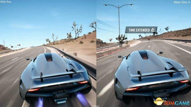 微软胜了?《极品飞车20:复仇》主机画面对比视频