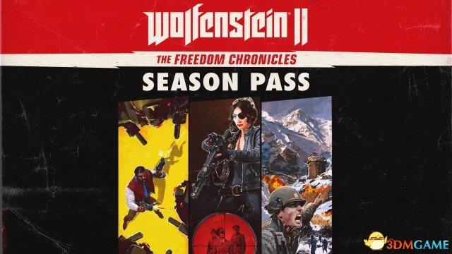 《德军总部2:新巨像》四款DLC包含三位新主角