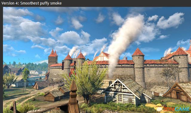 巫师3:狂猎 v1.31可替换的烟囱烟雾MOD