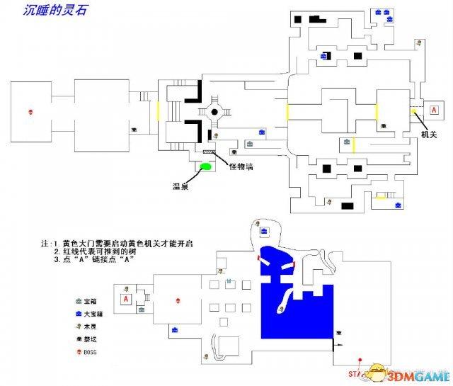仁王全区地图详细标注介绍 仁王全地图详细资料一览