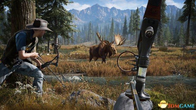 《孤岛惊魂5》 西部场景新预告 最强游戏画质展现