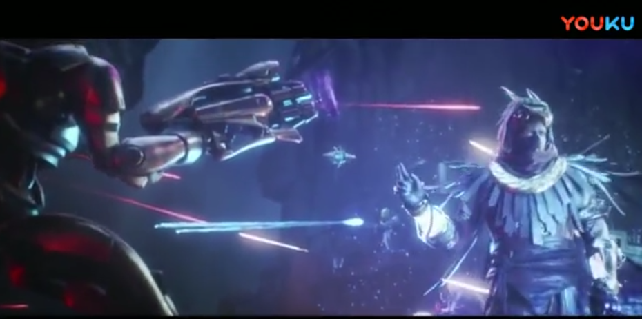 """《命运2》DLC""""奥西里斯的诅咒""""开场CG"""