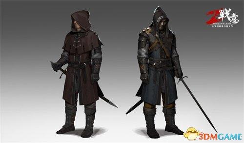 朔风月寒染铁衣 《战意》全新神秘势力套装曝光