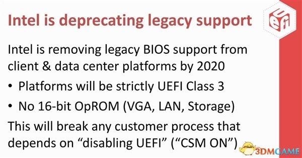UEFI兼容模式或遭封禁:新设备将无缘Windows 7