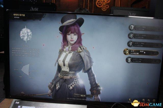 韩国游戏展G-Star蓝洞网游新作《A:IR》实机体验