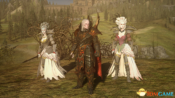 全面战争:战锤2 吸血鬼派系将领和英雄美化MOD