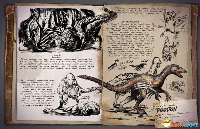 智商碾压 《方舟:生存进化OL》极智生物伤齿龙