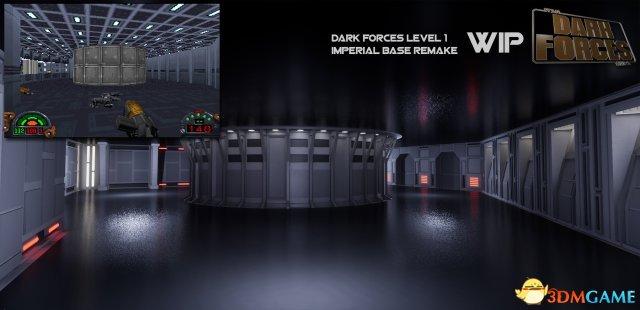虚幻引擎4重制《星球大战:黑暗力量》 效果惊艳