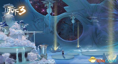 大荒山河变幻随心?《天下3》全新资料片开辟MMO新玩法!