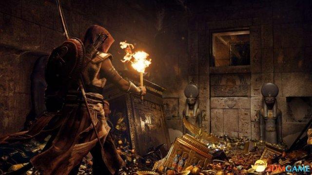玩家開掛 《刺客教條:起源》發現《FF15》彩蛋
