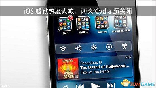iOS越狱热度大减 Cydia三大源中的两个已经关闭