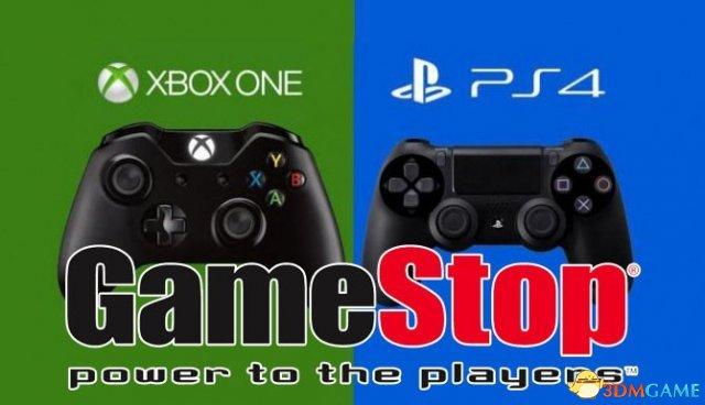 """零售商GameStop公布""""黑色星期五""""销量排行榜"""
