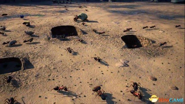 蚁群策略游戏《地下蚁国》抢先体验发行时间公布