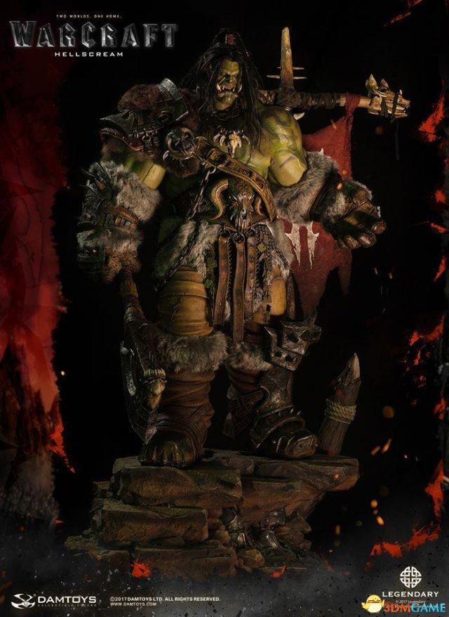 威武霸气 《魔兽电影》新传奇雕像格罗姆-地狱咆哮
